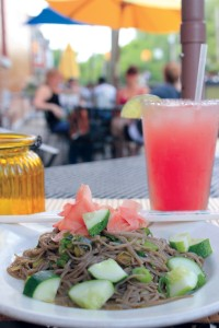 Zippy Noodles are a popular summertime dish at Johnny Mango World Cafe and Bar in Ohio City. Photo / Michael C. Butz