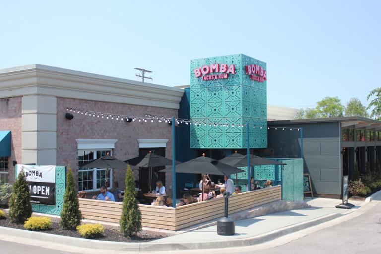 BOMBA's Rocky River storefront.