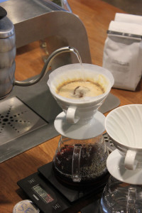 The pour-over technique allows Pour baristas to do more by hand, affording them more control over the coffee-making process.