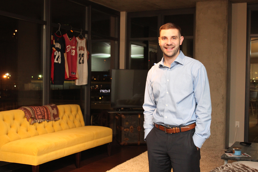 Jason Cohen enjoys his apartment at the Flats at East Bank Apartments in downtown Cleveland so much that he recently signed on for a second year.
