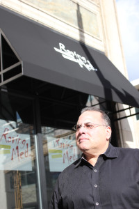 Restaurateur Seth Bromberg opened Raving Med, a fast-casual eatery that specializes in Israeli street food, in June in downtown Cleveland's Playhouse Square district.