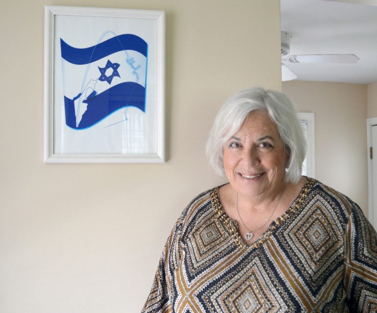 Susan Kellner, pictured in her Shaker Heights home, sued her employer, the federal government, for anti-Semitic discrimination.
