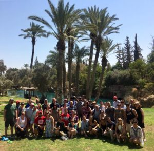 "The Cleveland Honeymoon Israel group visits Beit Shean, Israel – Cleveland's ""sister city."""