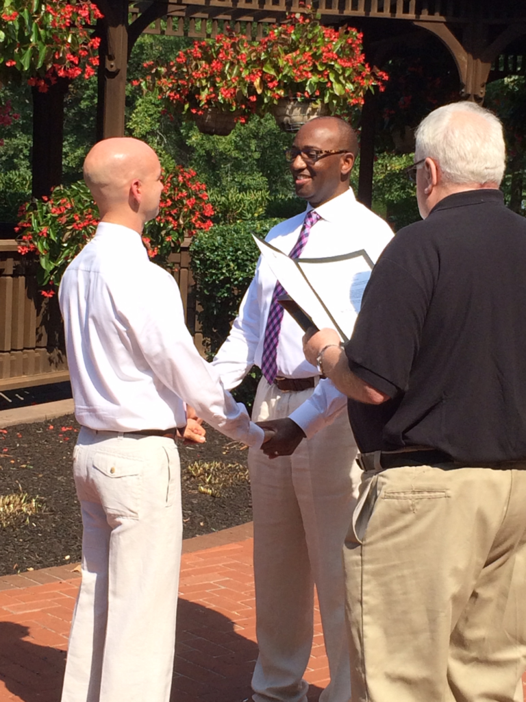 Lucash and Roulette were married Sept. 19, 2015 in Hershey, Pa. Ian Lucash