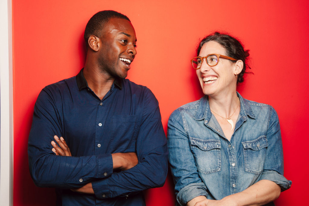 Serial Season 3 hosts Emmanuel Dzotsi and Sarah Koenig.